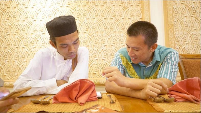 Ustadz Felix Siauw dan Ustadz Abdul Somad