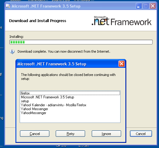 Download. Net framework 3. 5 offline installer for windows 10.