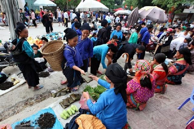 Hoang Su Phi market 1