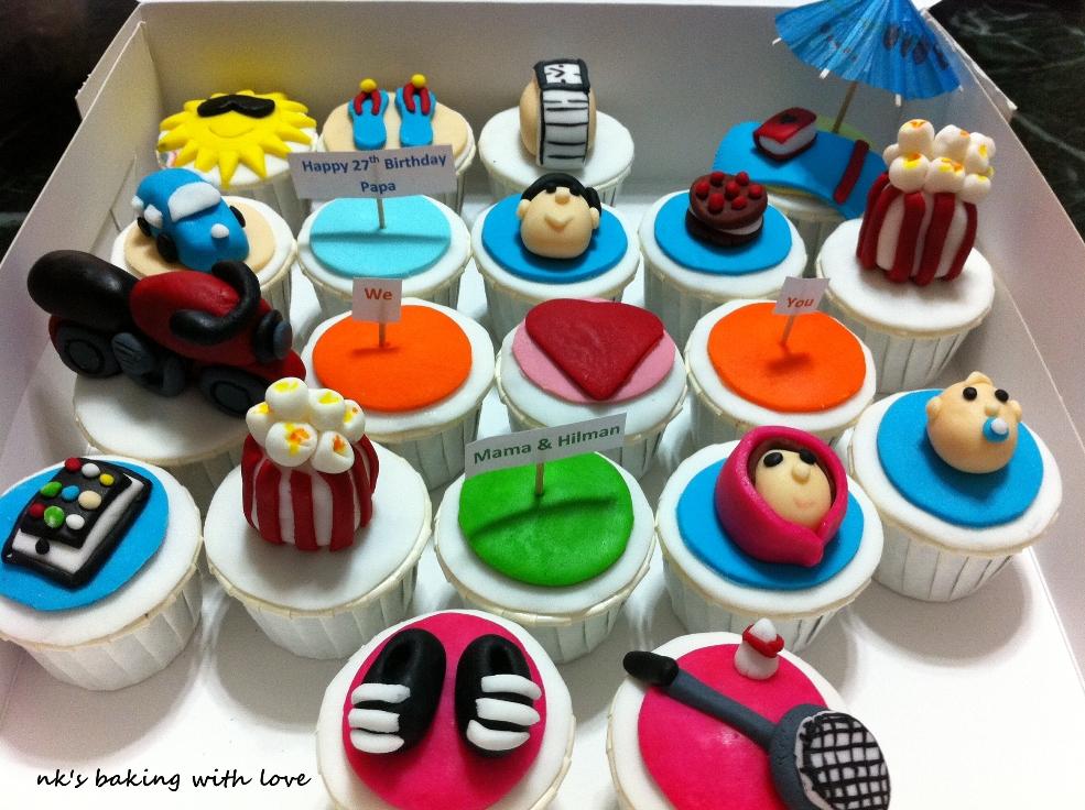 Nks Customized Birthday Cupcakes