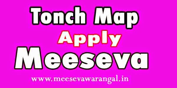 Tonch Map Apply in Meeseva