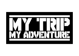 Logo My Trip My adventure Vector