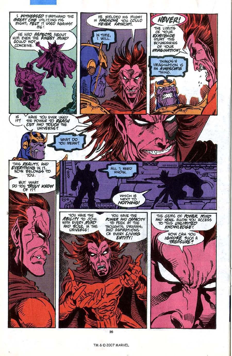 Read online Silver Surfer (1987) comic -  Issue #45 - 22