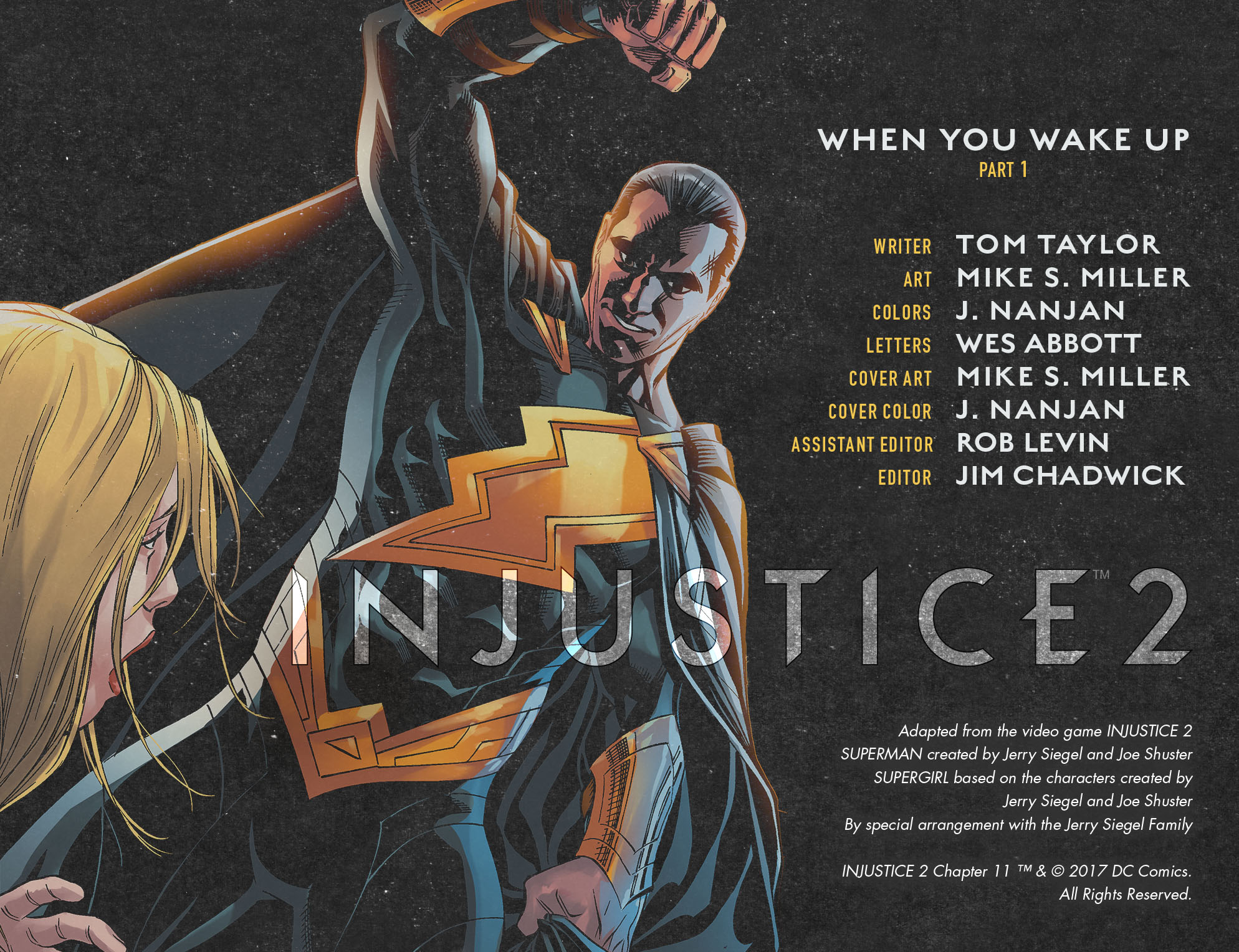 Read online Injustice 2 comic -  Issue #11 - 2