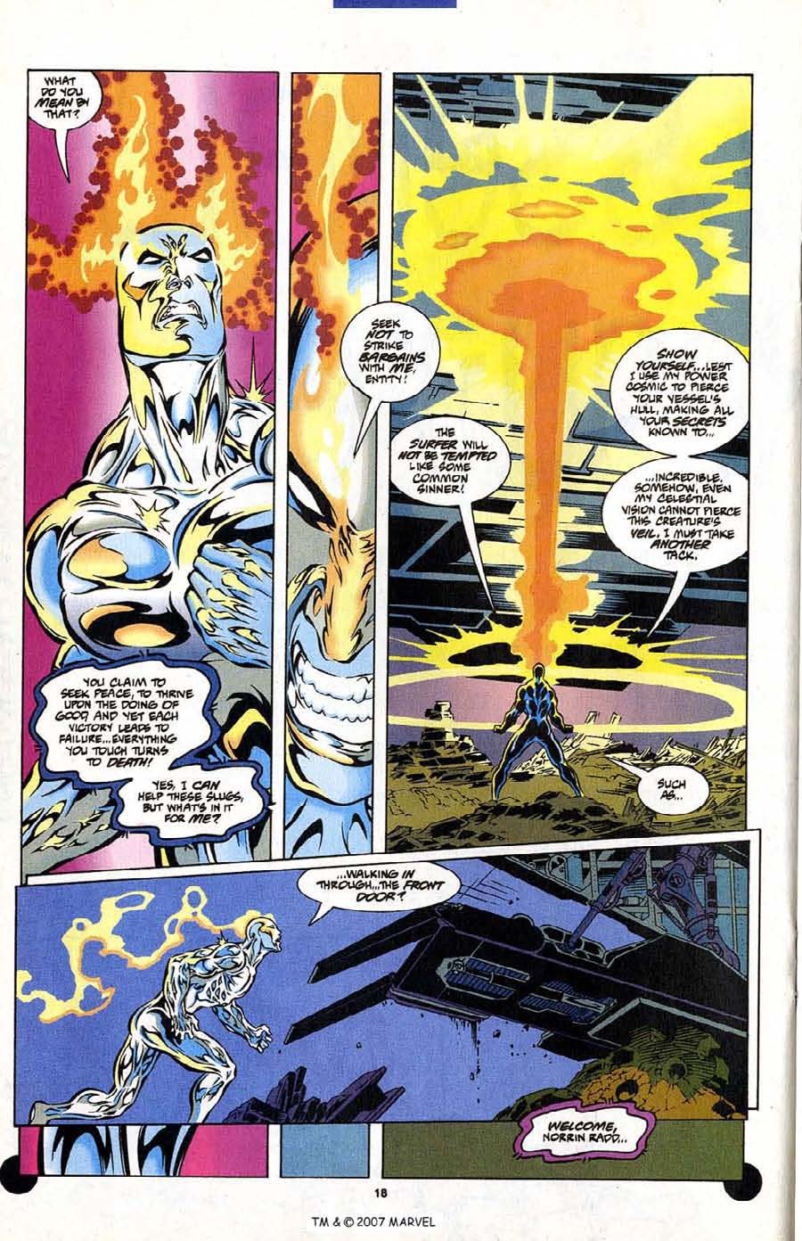 Read online Silver Surfer (1987) comic -  Issue #106 - 20