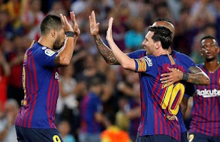 نتيجة مباراة برشلونة وانتر ميلان اليوم في دوري أبطال أوروبا 2018