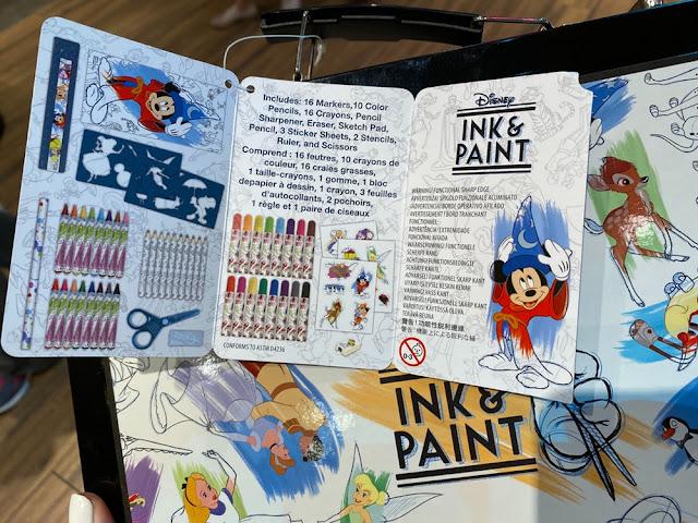 Ink & Paint Art Supplies Set