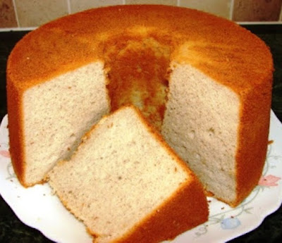 Banana and Coconut Chiffon Cake