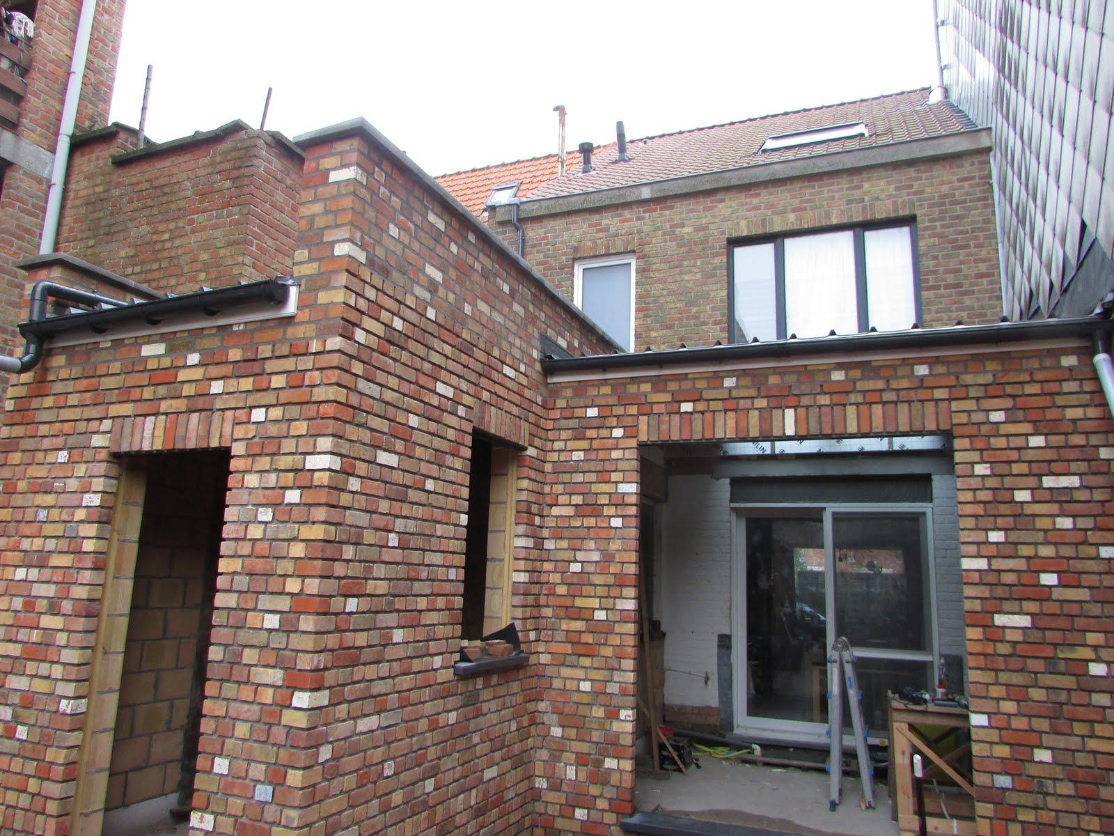 Verbouwing van ons ouderlijk huis: dakafwerking uitbreiding 3