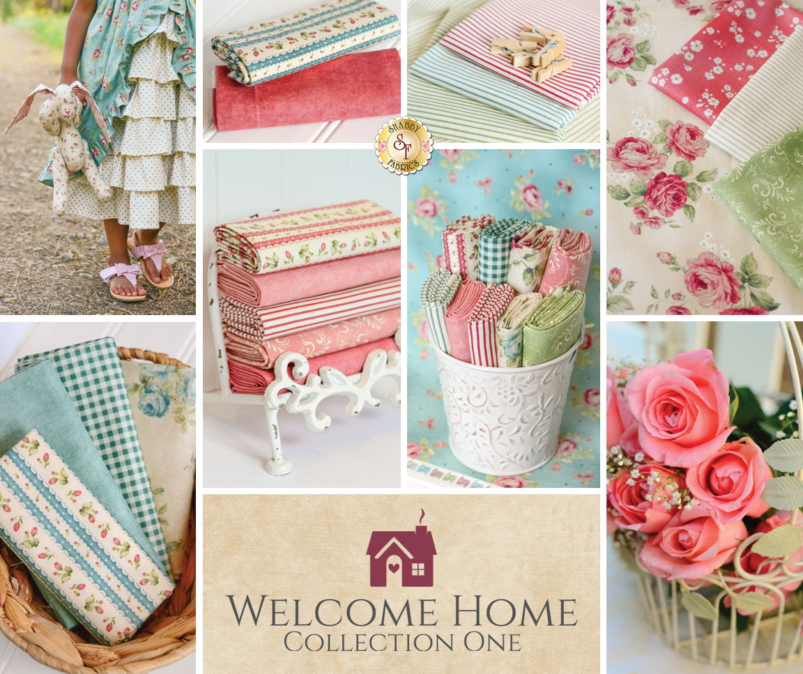 The shabby a quilting blog by shabby fabrics welcome for Home fabrics