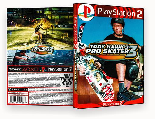 JOGO PS2 – Tony Hawks Pro Skater 3 PS2 – ISO