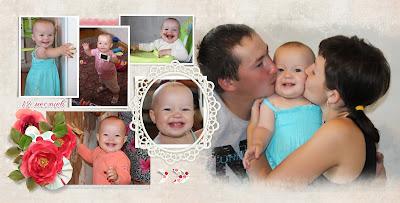 фотокнига-макет для новорожденного