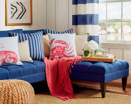 Navy Blue Sofa Ideas