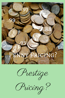 price points for vintage selling