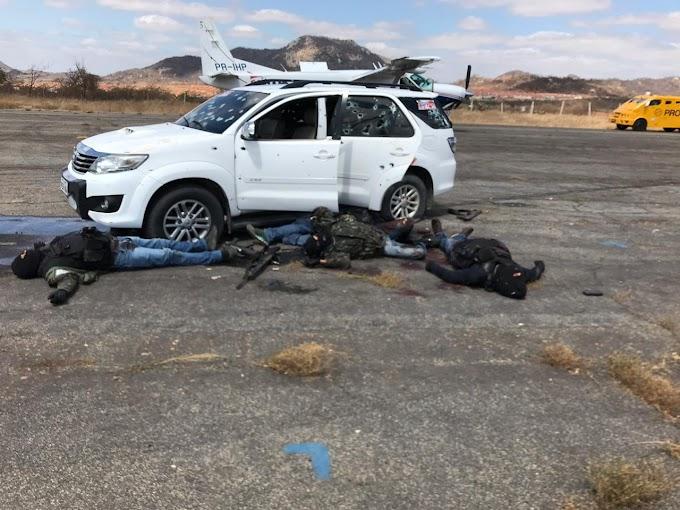 """Tentativa de Assalto  no Sertão Pernambucano  """" em Salgueiro  deixa vários Bandidos mortos em confronto com A Polícia  ."""