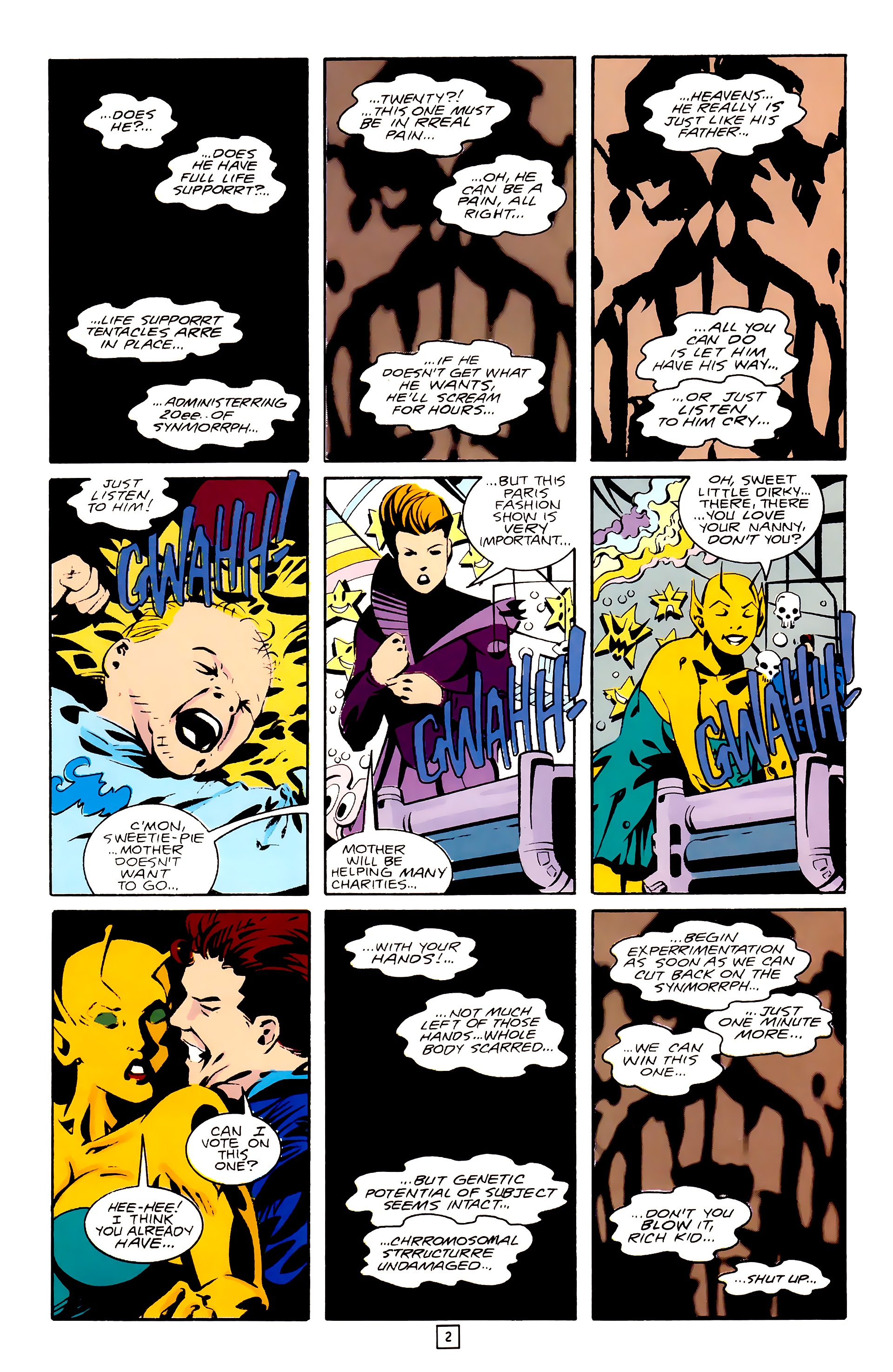 Legion of Super-Heroes (1989) 28 Page 2