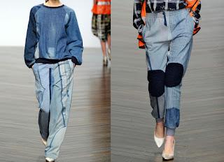 CLOCHARD- ganha versão em jeans e combine com top cropped ou blusas  ajustadas e complete com plataforma para alongar a silhueta. 807dd30463f