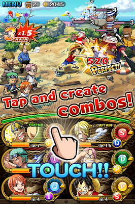 Free Download Gratis Game One Piece Treasure Cruise v One Piece Treasure Cruise v8.0.0 Mod Apk (God Mode+High Attack)
