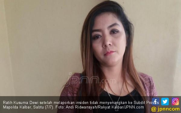 Duh, Bakal Caleg Ratih Kusuma Dewi Digituin di Pos Polisi