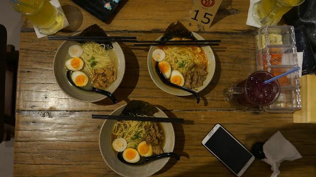 Ramen Hangat di Mato Restoran Jepang