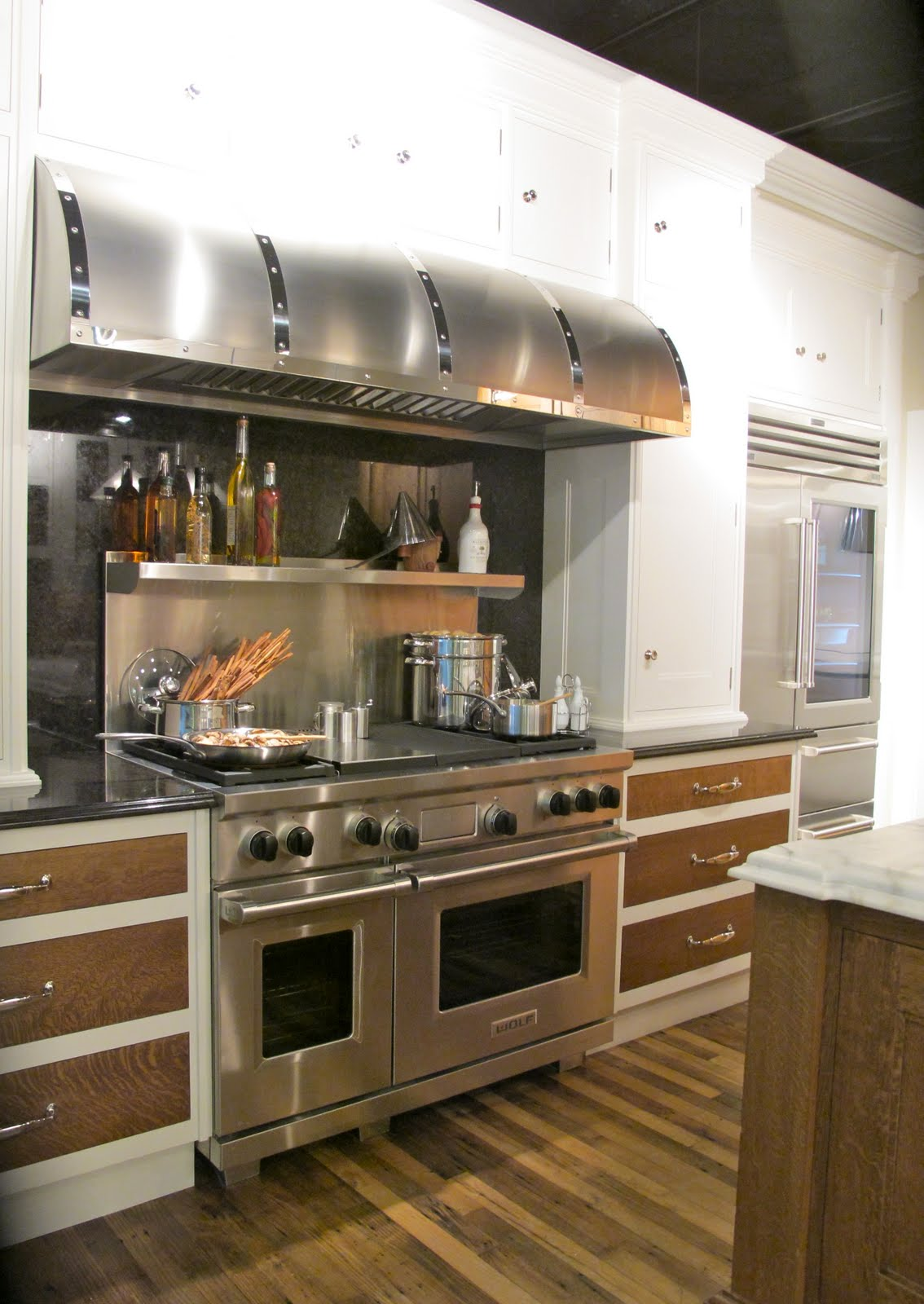 kitchen island light fixtures installation jenny steffens hobick: kitchens | the most amazing ...