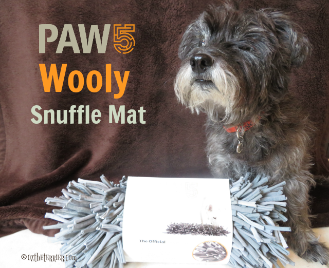 oz PAW5 Wooly Snuffle Mat enrichment product for dogs