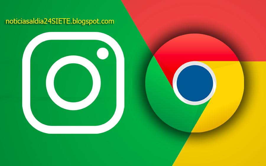 descargar fotos de instagram chrome