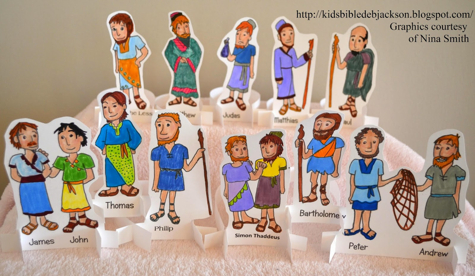 Bible Fun For Kids Disciples Vs Apostles Posters File