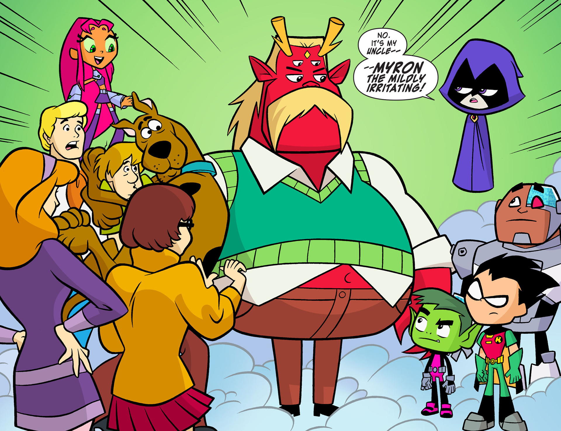 Read online Scooby-Doo! Team-Up comic -  Issue #8 - 4