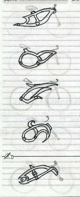 Bike Frames Drawing