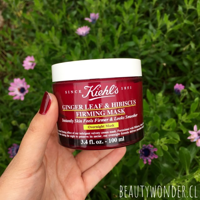 mascarilla ginger leaf and hibiscus kiehls