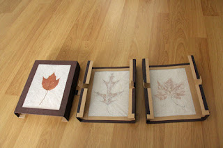 Autumn Leaves Lamp leaf panels