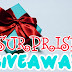 CONTEST : SURPRISE GIVEAWAY by FD