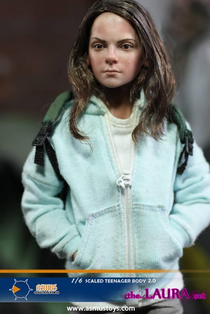Asmus Toys 1//6 Wolverine Logan Girl X-23 Teenager Body 2.0 Laura Head Figure