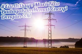 #earthday hemat energi listrik