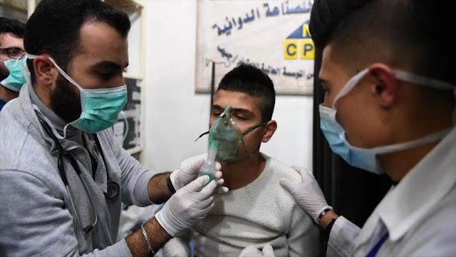 """""""Ataque terrorista con gas cloro en Alepo deja 50 civiles heridos"""""""