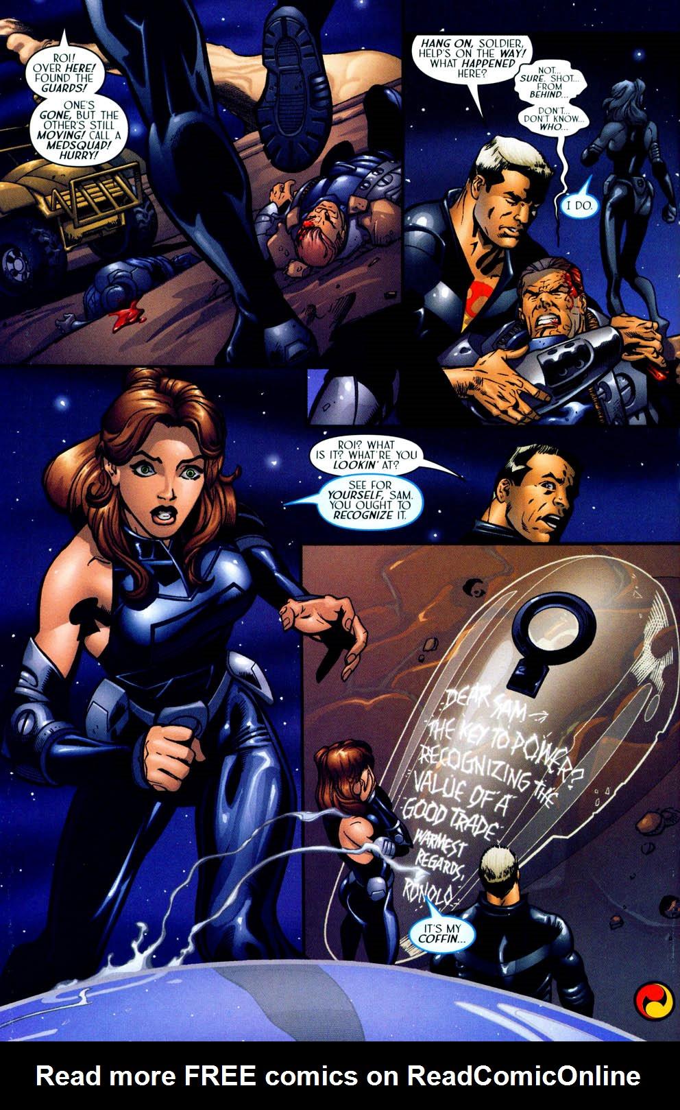 Read online Sigil (2000) comic -  Issue #12 - 26