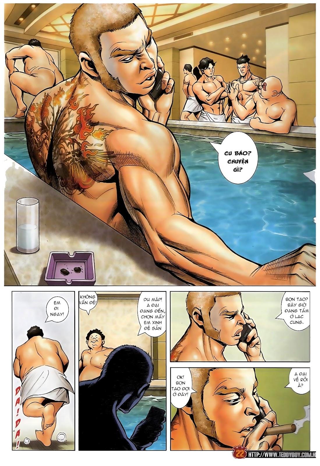 Người Trong Giang Hồ - Chapter 1570: Tắm máu sauna - Pic 18