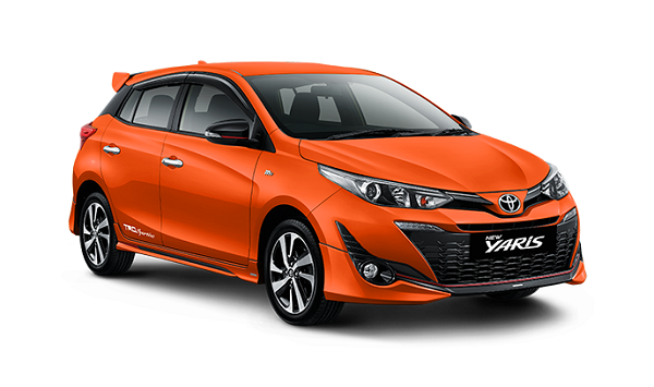new yaris orange metallic
