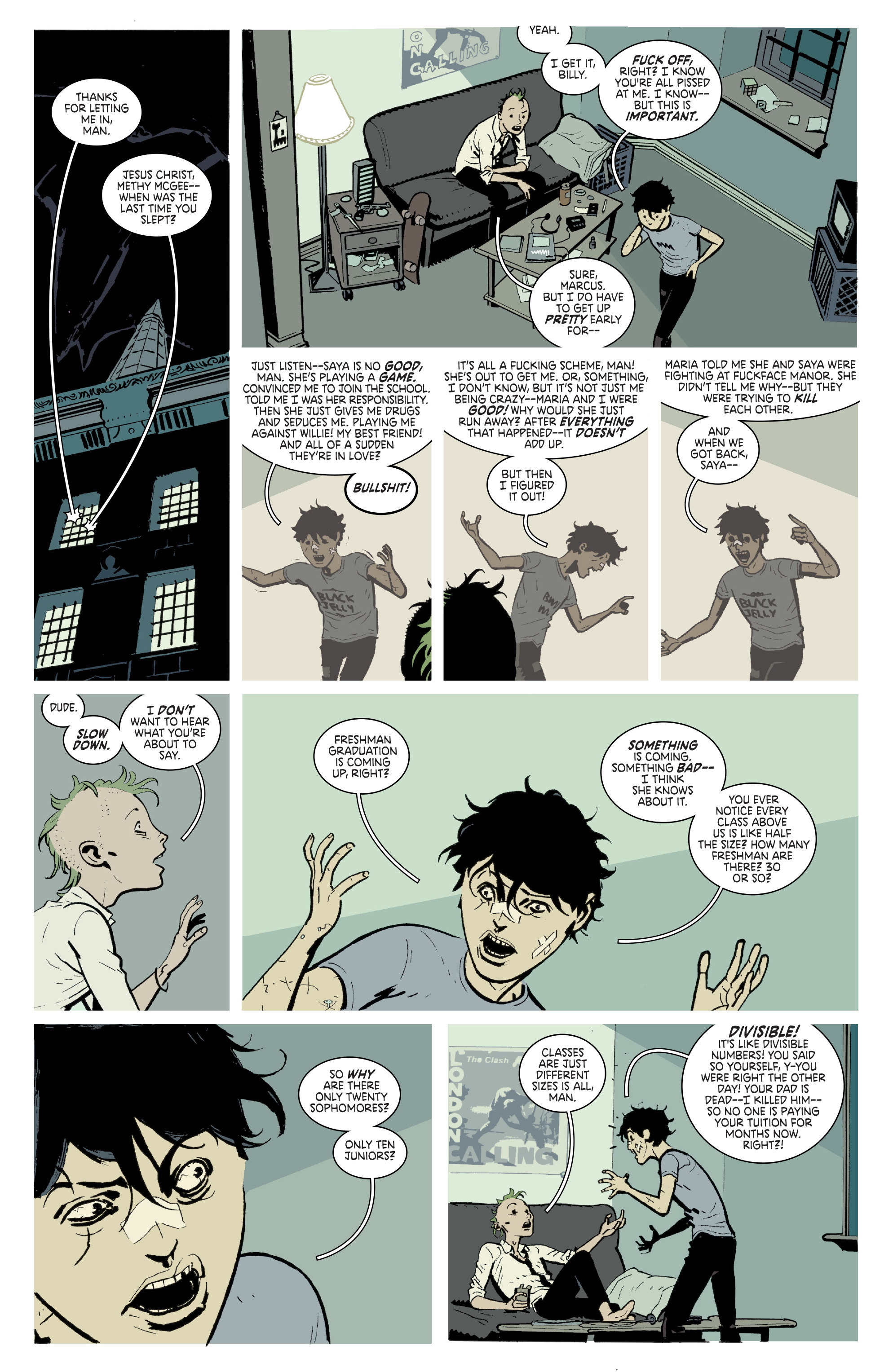 Read online Deadly Class comic -  Issue # _TPB 3 - 74
