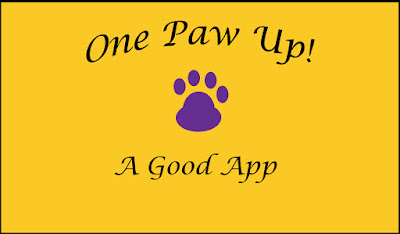 One Paw Up! A good app