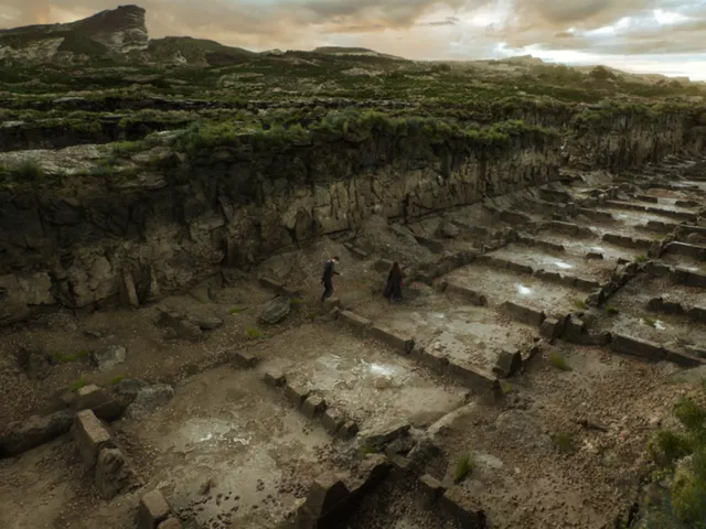 Tracks of London City in Mortal Engines