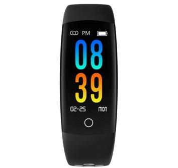 Waterproof Q6 Smart Wristband - Heart Rate Bracelet Blood Pressure Monitor