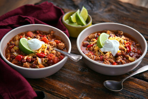 Punch The Clock: Turkey Chili Recipe - NYT Cooking