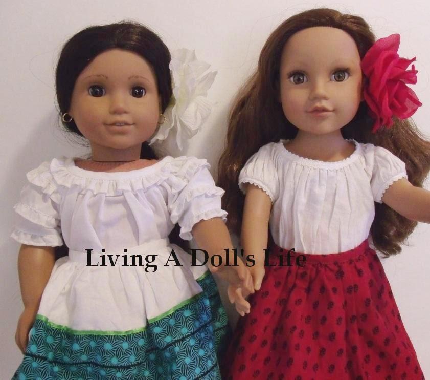 Josefina Birthday Dress: Josefina Skirts, Sash, Shawl