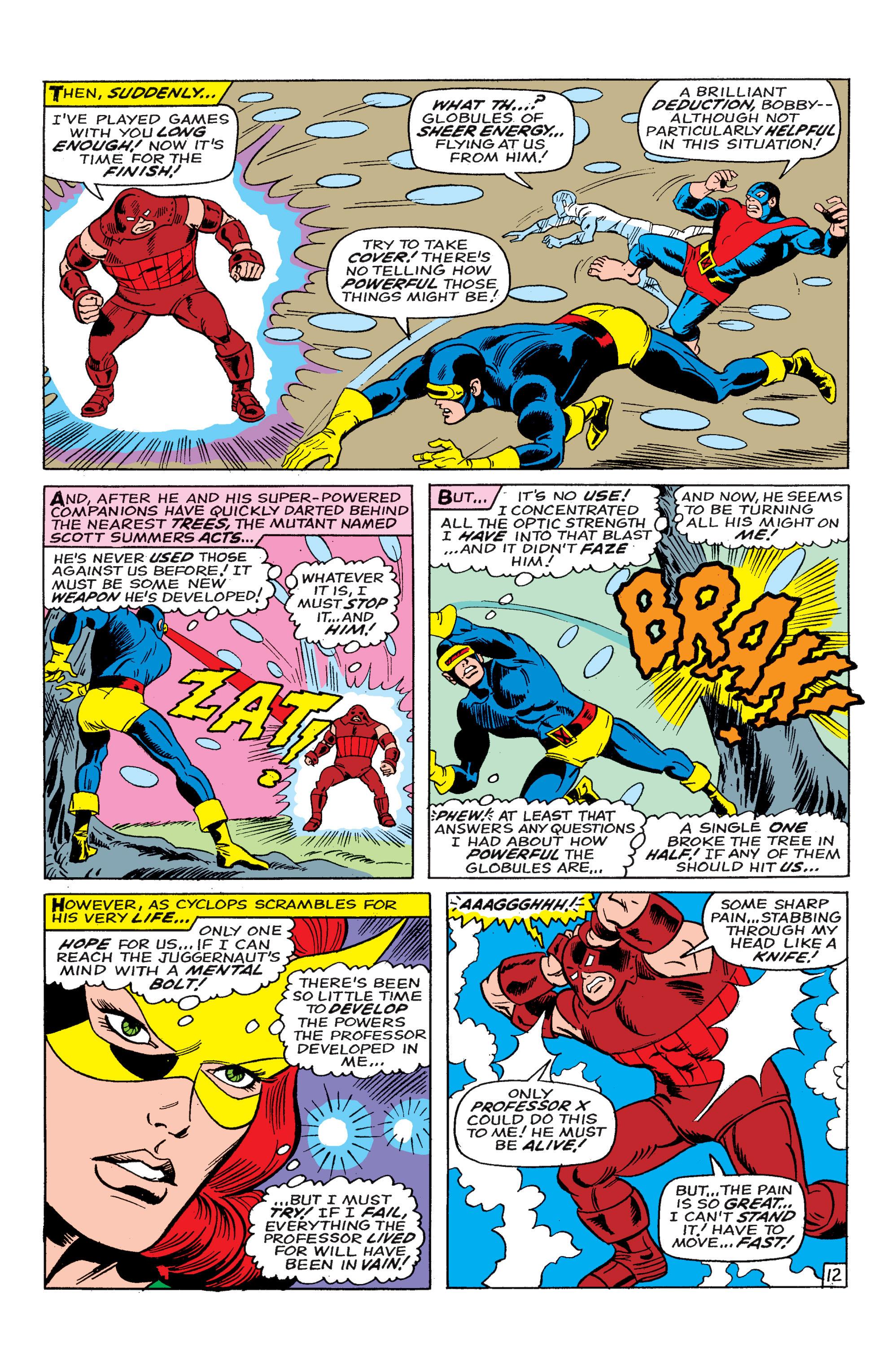 Uncanny X-Men (1963) 46 Page 12