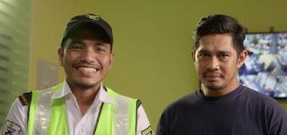 Telemovie Musafir Lalu lakonan Fizz Fairuz dan Syazwan Zulkifli
