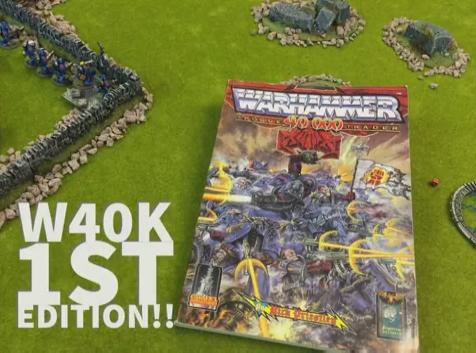 Warhammer 1st Edition Rogue Trader Battle Report