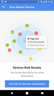 BlueBorne Vulnerability Scanner di Google Play