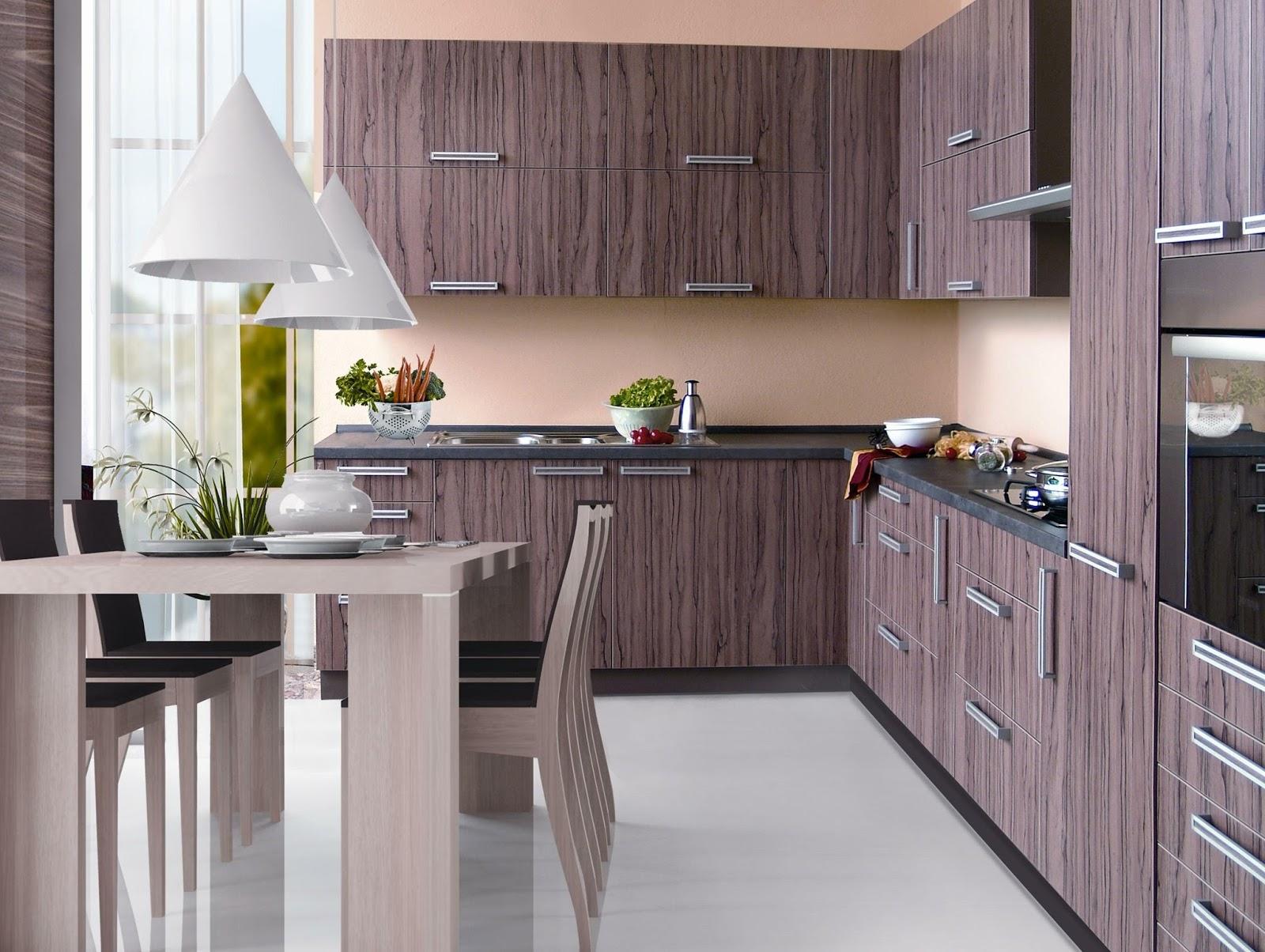 49 gambar kitchen set minimalis untuk dapur kecil dan for Kitchen set b q
